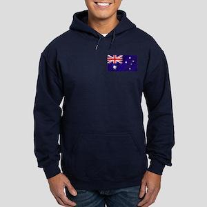 Flag of Australia Hoodie (dark)