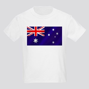 Flag of Australia Kids Light T-Shirt