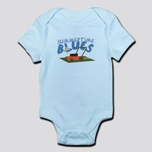 Summer Time Blues Body Suit