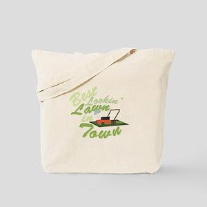 Best Lookin Lawn Tote Bag