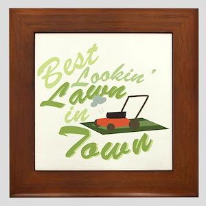 Best Lookin Lawn Framed Tile