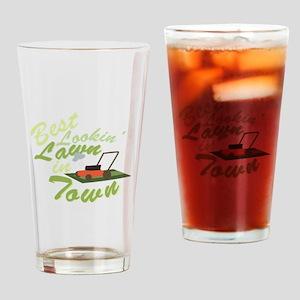 Best Lookin Lawn Drinking Glass