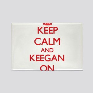 Keep Calm and Keegan ON Magnets