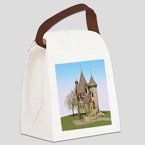 Fairytale Castle Canvas Lunch Bag