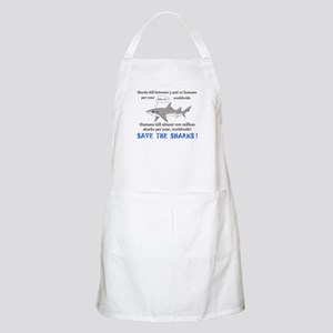 Save the Sharks BBQ Apron