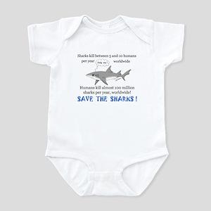Save the Sharks Infant Bodysuit