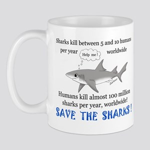 Save the Sharks Mug