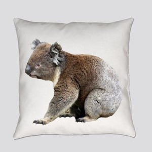 Aussie Koala Bear Cutout Photo Everyday Pillow