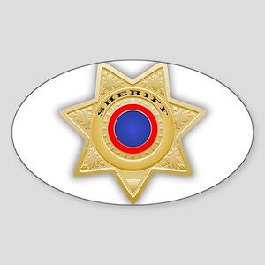Sheriff badge Sticker