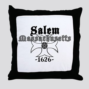 Salem Massachusetts Throw Pillow