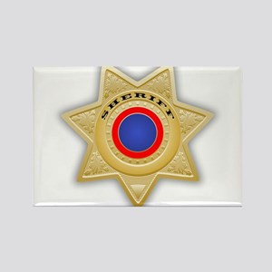 Sheriff badge Magnets