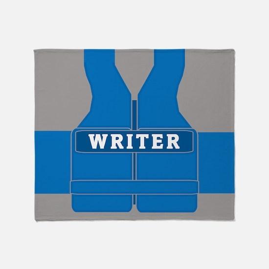 Richard Castle Vests Throw Blanket