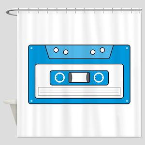 Cassette Tape Shower Curtain