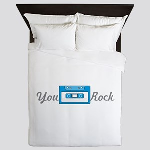 You Rock Queen Duvet