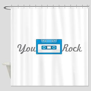 You Rock Shower Curtain