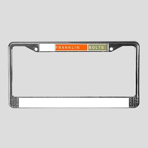 Franklin  License Plate Frame