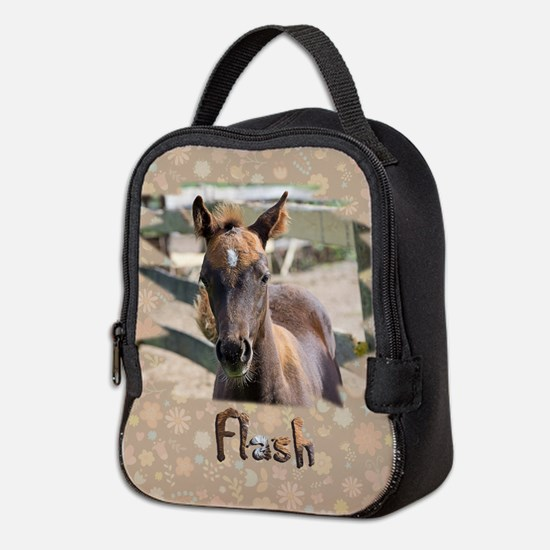 Funny Flashing Neoprene Lunch Bag