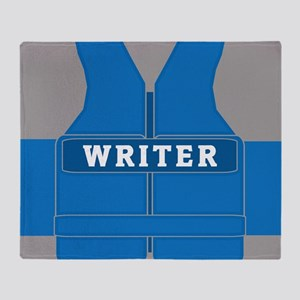 Richard Castle Vests Throw Blanket