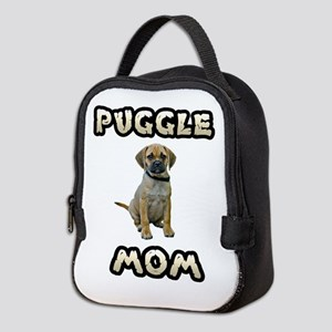 Puggle Mom Neoprene Lunch Bag
