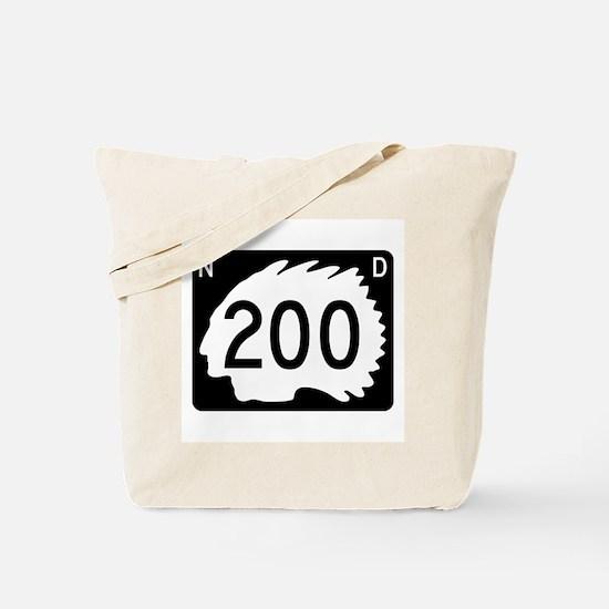 Highway 200, North Dakota Tote Bag