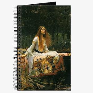 Lady of Shalott by JW Waterhouse Journal