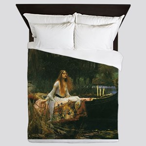 Lady of Shalott by JW Waterhouse Queen Duvet