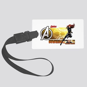 The Avengers Black Widow Action Large Luggage Tag
