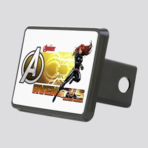 The Avengers Black Widow A Rectangular Hitch Cover