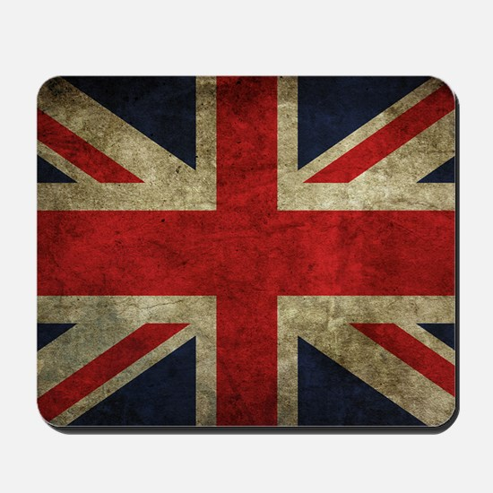 Grunge Flag Of England Mousepad