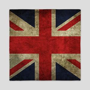 Grunge Flag Of England Queen Duvet