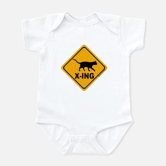 Cat X-ing Infant Bodysuit