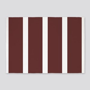 Big Brown Stripe 5'x7'Area Rug
