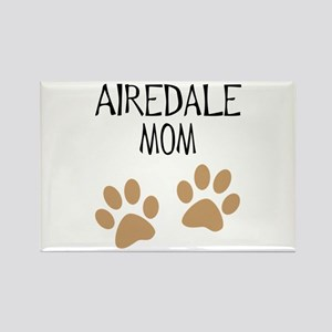Airedale Mom Rectangle Magnet