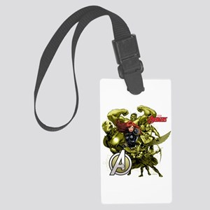 The Avengers Black Widow: Green Large Luggage Tag