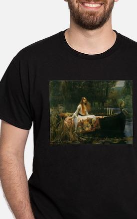 Lady of Shalott by JW Waterhouse T-Shirt