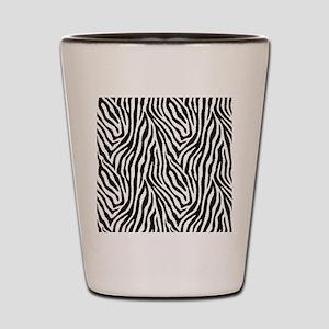 Zebra Shot Glass