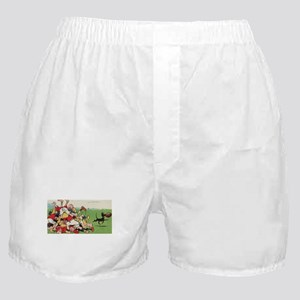 rugby art Boxer Shorts