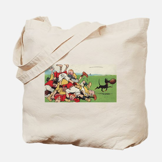rugby art Tote Bag