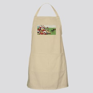 rugby art Apron