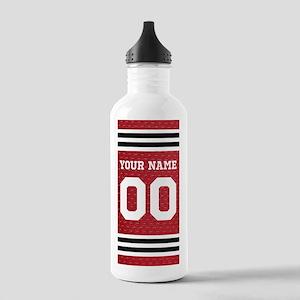 Personalize Hockey Sports Water Bottle