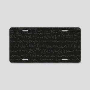 Scientific Formula On Blackboard Aluminum License