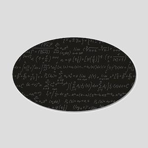 Scientific Formula On Blackboard Wall Decal