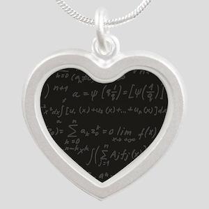 Scientific Formula On Blackboard Necklaces