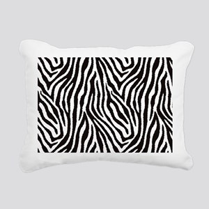 Zebra Rectangular Canvas Pillow