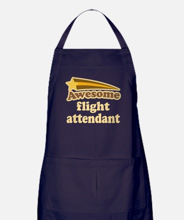 Awesome Flight Attendant Apron (dark)
