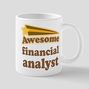 Awesome Financial Analyst Mug