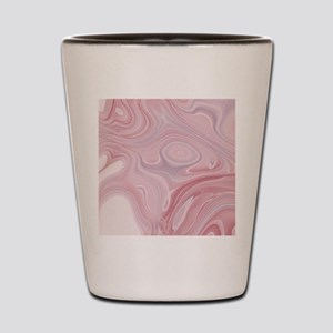 modern swirls Shot Glass