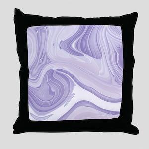 modern swirls Throw Pillow