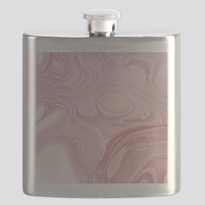 modern swirls Flask
