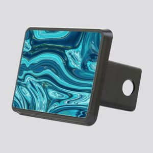 modern swirls Rectangular Hitch Cover